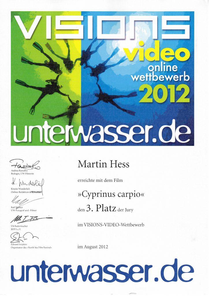 scubamedia visionsVideo 2012
